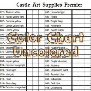 Castle Art Supplies - Premier pencils