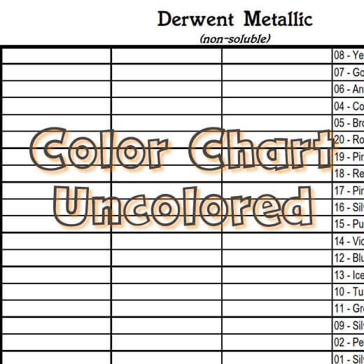 Derwent Metallic non-soluble