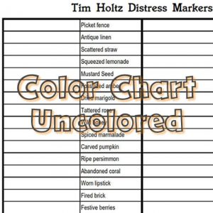 Distress markers