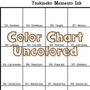 Tsukineko Memento ink