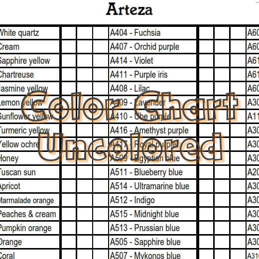 Arteza colored pencil