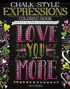Chalk-Style Expressions - Tabby May Art - cover