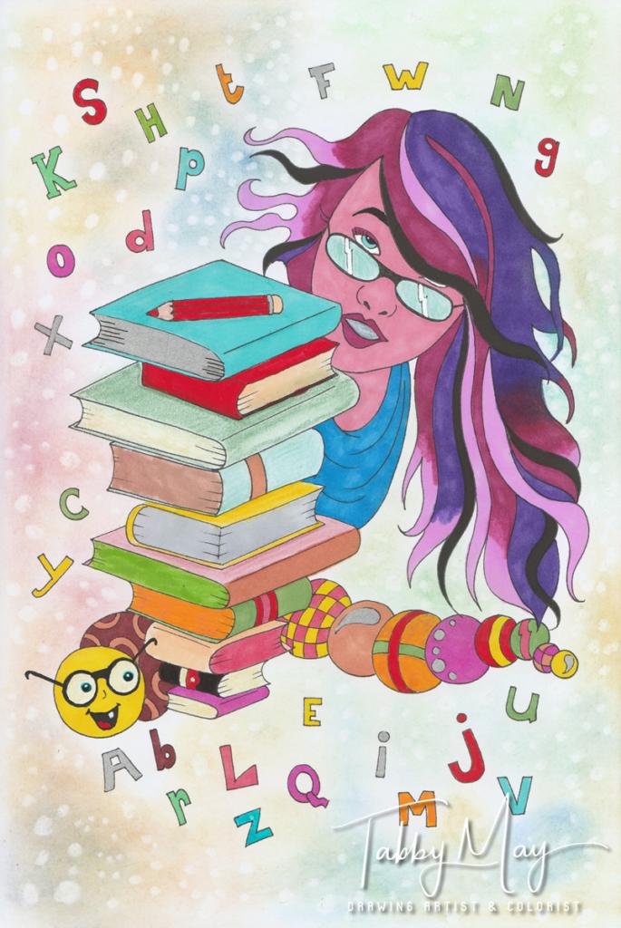 2017-05-21 - Caterpillar books. Let me color that Fantasy - Sandy Wijsbeek - Boekscout