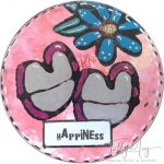 Artist Trading Coins - Happiness