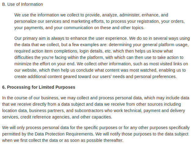 Data Protection 6