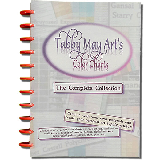 Tabby May Art's Color Charts Paper Book