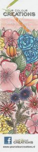 Bookmark colored with the new 24 Luminance colors