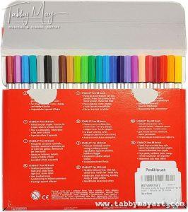 Stabilo Pen 68 Brush pen set of 24