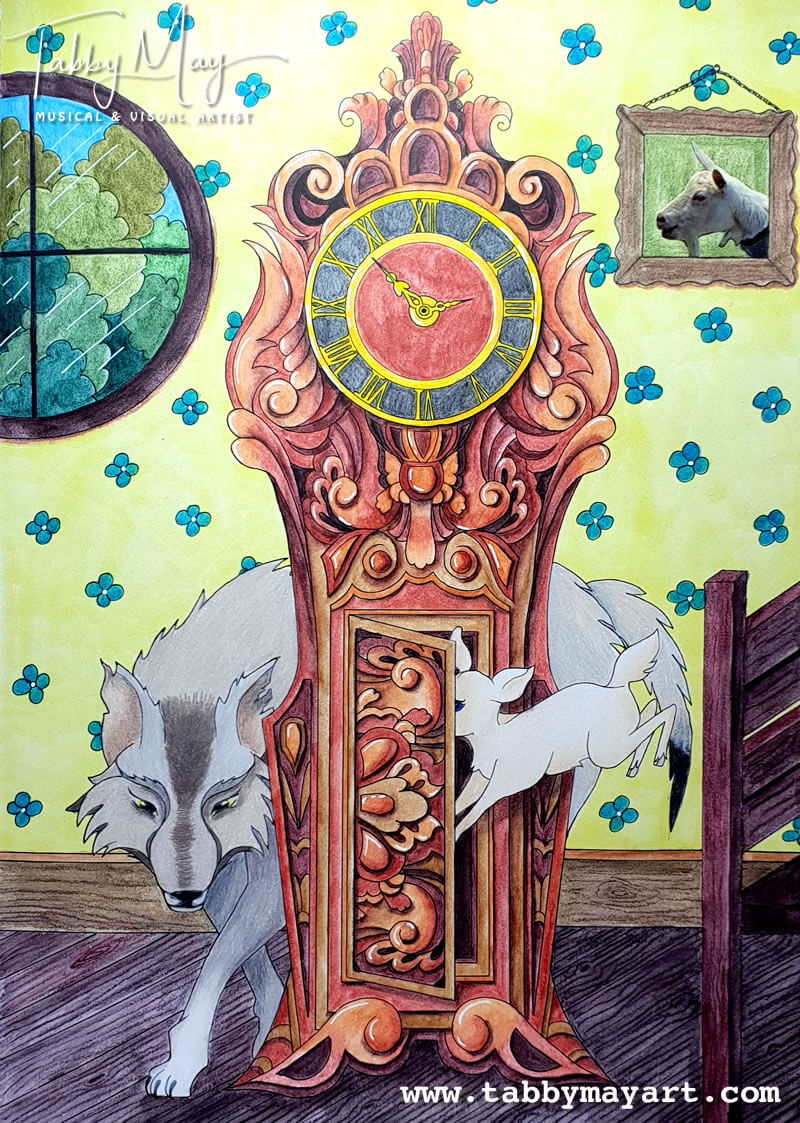 End result of the wolf page