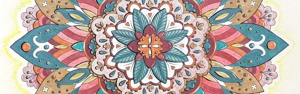 Mandala coloring book collector's edition