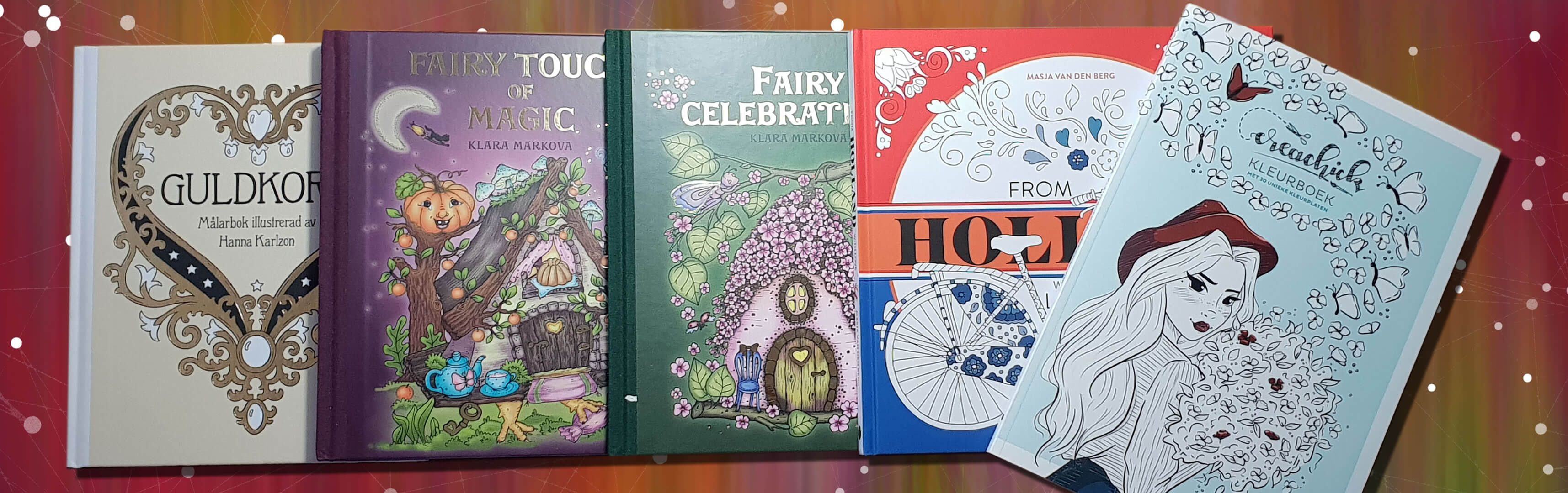 Tabby Reads: New coloring books - part 1