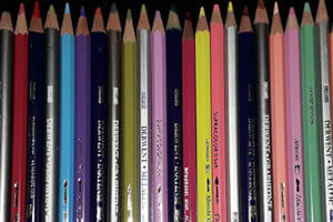Water-soluble pencils