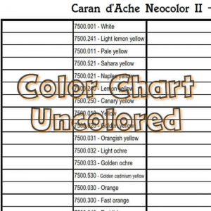 Caran d'Ache Neocolor II